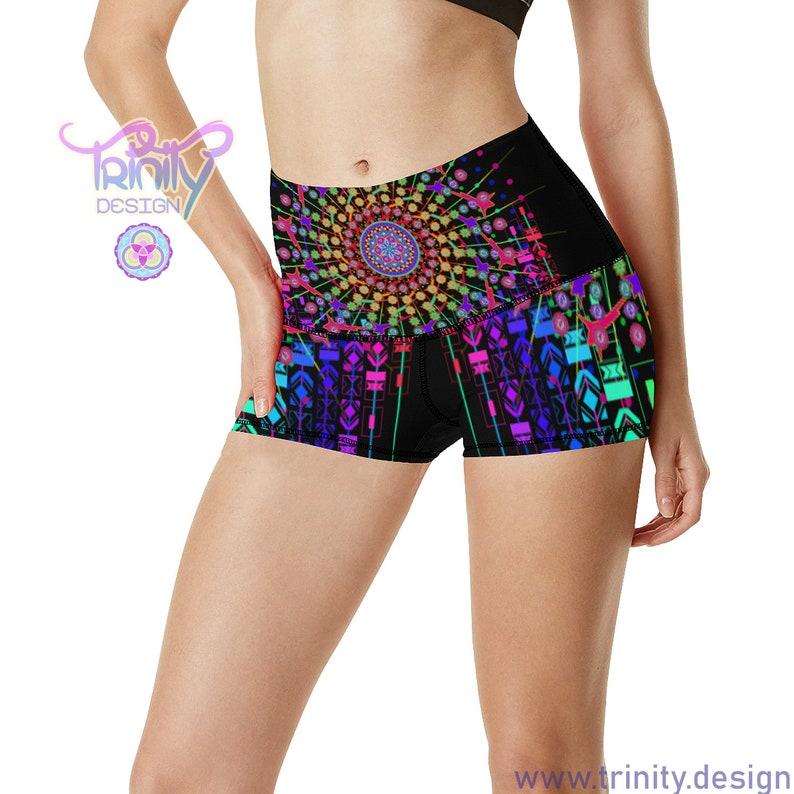 MATRIX SUNRISE Booty Shorts Women