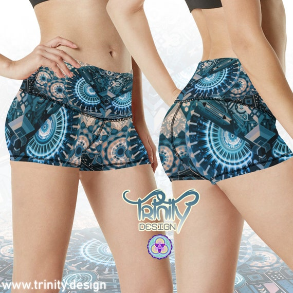 ALL SEEING OWL Booty Shorts