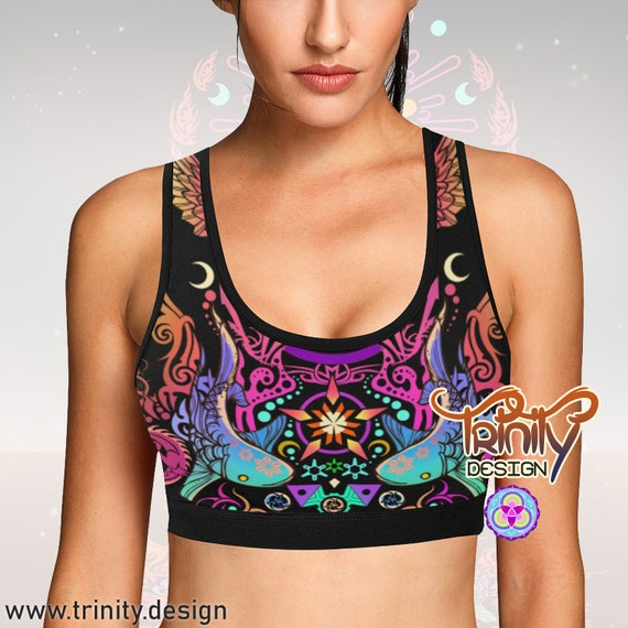SACRED BUTTERFLY Bra Top