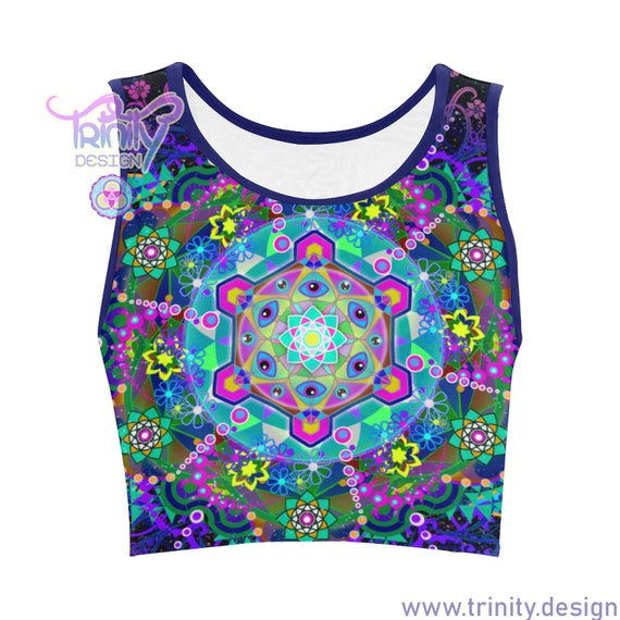 METATRON'S TRIP Crop Top Women
