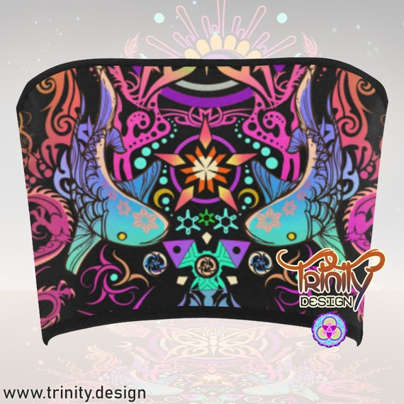 SACRED BUTTERFLY Bandeau