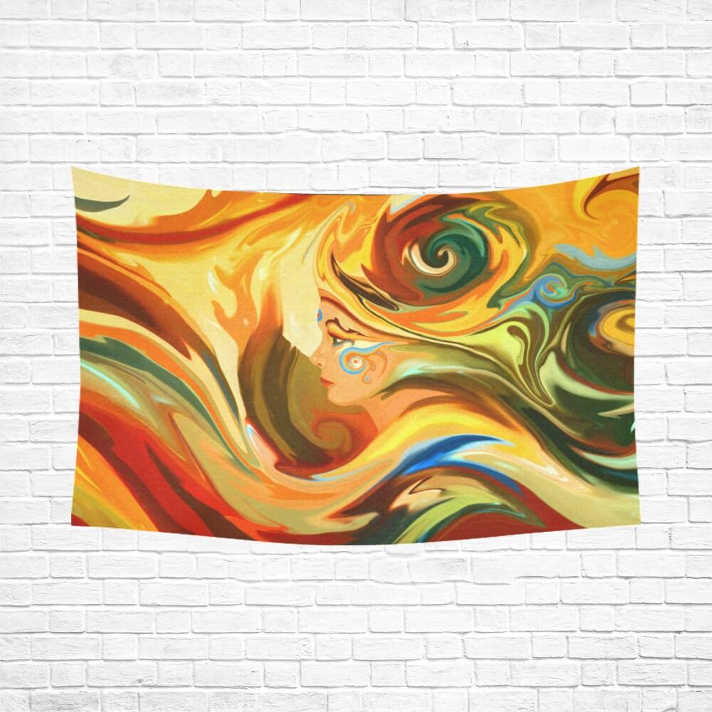 RA Woven Wall Hanging Mandala Tapestry Mandala Wall Art Wall | Etsy