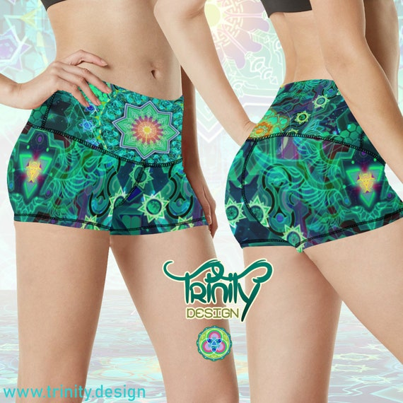 FOREST PORTAL Booty Shorts