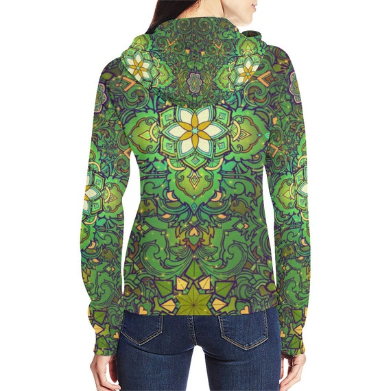 Trance Psychedelic Clothing Futuristic Festival Goa Trippy HOODIE Clothing Outfit Psy Hippie Rave Clothing Clothing Clothing Psytrance fZtFTxq7