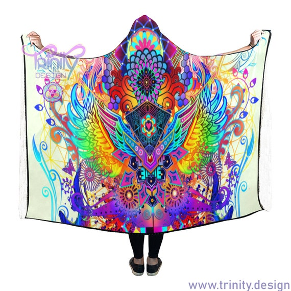 """STARSEED ACTIVATION Hooded Blanket 80""""x56"""""""