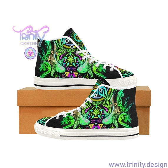 SACRED BUTTERFLY High Top Sneakers Men