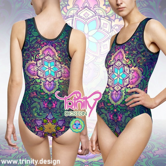 SACRED FLOWER One Piece Swimsuit