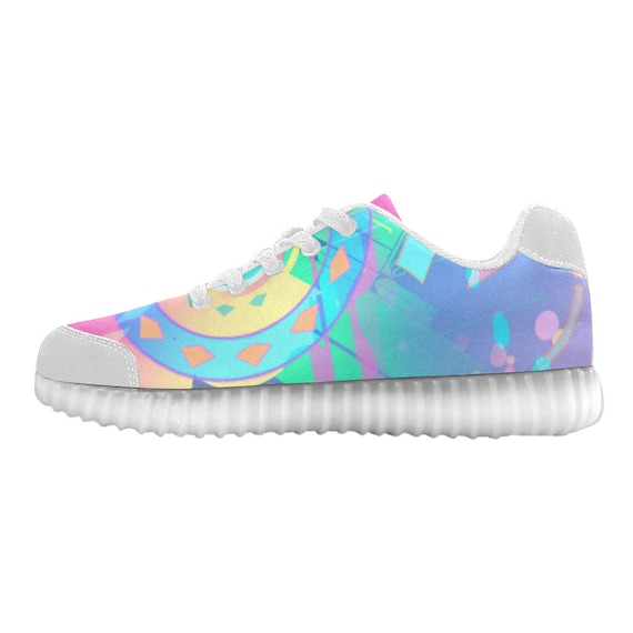 Rave Clothing LIGHT Burning Clothing Clothing Outfit Festival Men UP Custom Man Women Wear Cute Edm Rave Trippy Goa Music Rave Unisex SHOES PqxgYwC