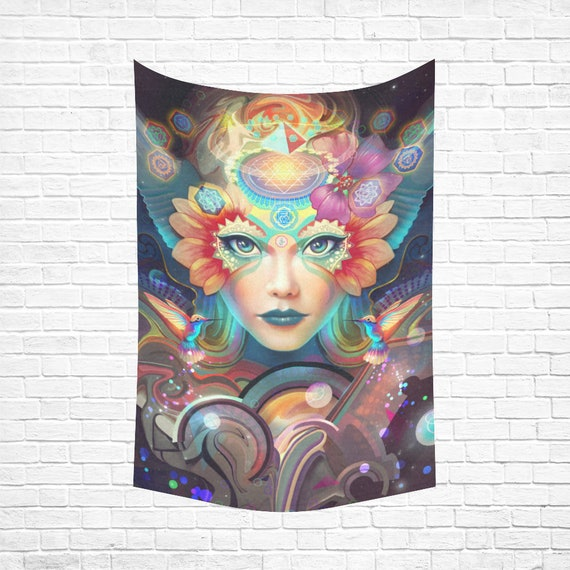 KNOW HIGHER WORLDS Wall Tapestry