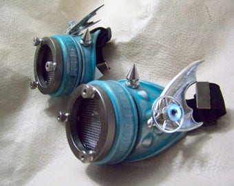Steampunk Engineer Goggles- Demon Spawn
