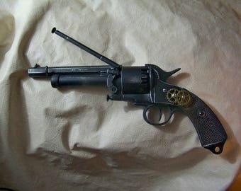 Steampunk 1860 Confederate Le Mat Revolver