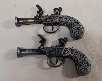 Steampunk 18th Century Aged British Pocket Flintlock