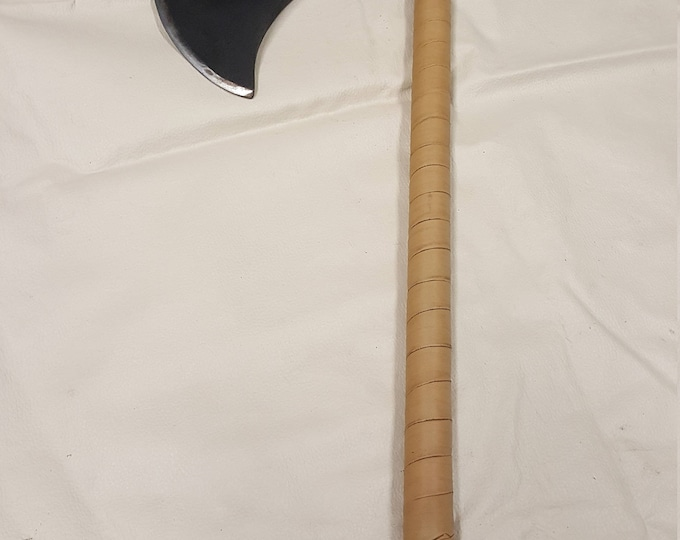 One Handed Fabricated Fantasy Battle Ax (Munin)