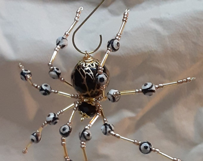 Steampunk/Christmas Brown Spider