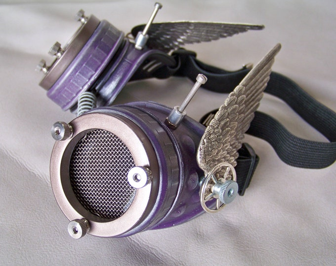 Steampunk Valkyrie Goggles