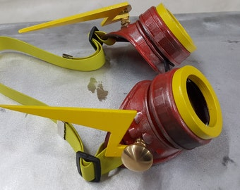 Steampunk Goggles Inspired By The Flash