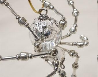 Steampunk Crystalline Ice Spider