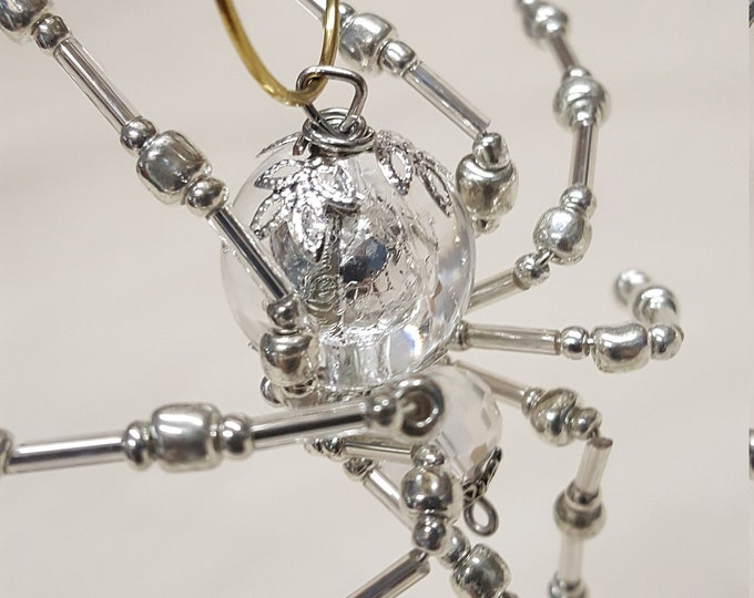 Steampunk Crystalline Ice Spider