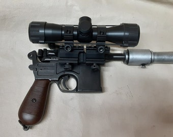 DL-46 Blaster Inspired By Han Solo's DL-44