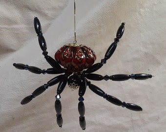 Extra Large Steampunk Tarantula Ceramic Drawer Pull Spider