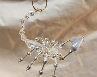 Steampunk Beaded Crystal Scorpion