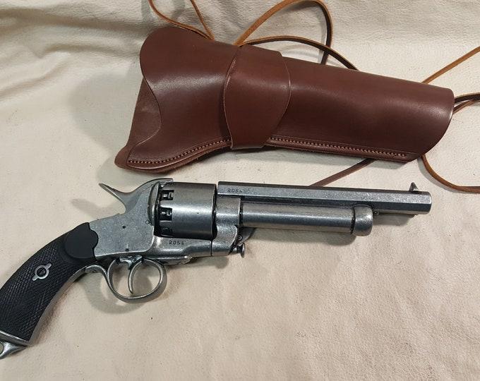 Steampunk 1860 Le Mat Revolver Non Firing Replica With Holster