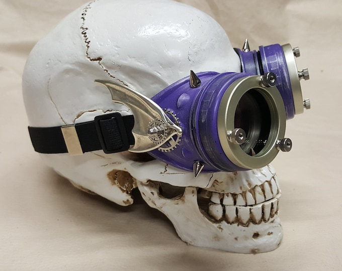 Steampunk Purple Engineer Goggles- Demon Spawn