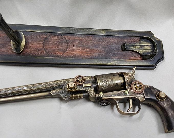 Steampunk 1851 Colt Navy Revolver Non Firing Replica #2