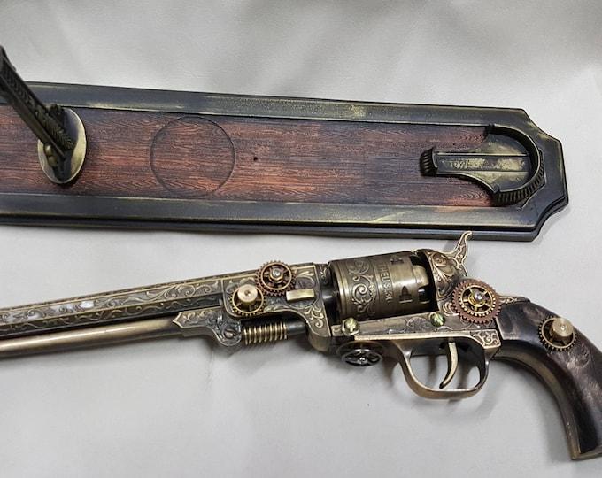 Steampunk 1851 Colt Navy Revolver #2