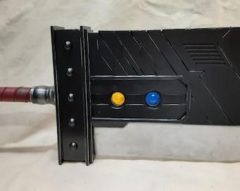 Custom Made Metal Cloud Strife FFVII Original Remake Buster Sword