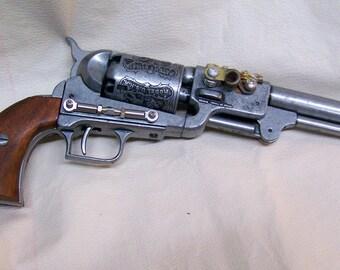 Steampunk 1849 Dragoon Revolver Non Firing Replica