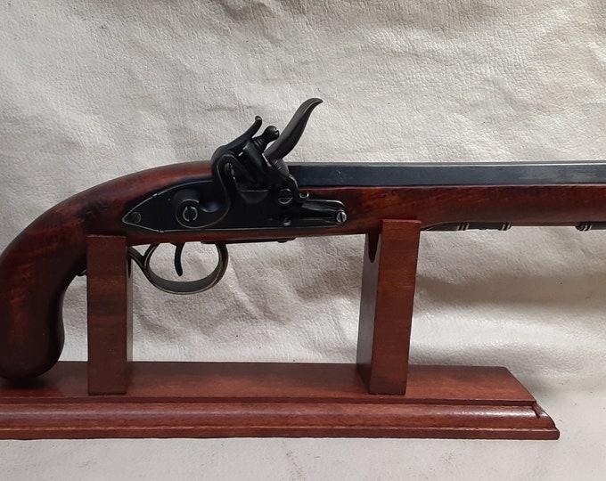Steampunk Style 18th Century Aged Kentucky Flintlock