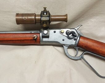 Steampunk Mare's Leg Rifle #2 W/Scope