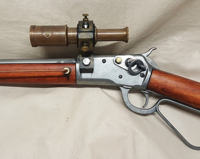Steampunk Mare's Leg Rifle #2 W/Scope