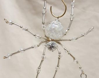 Steampunk Dew Drop Fractured Crystalline Ice Spider
