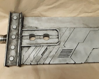 Custom Made Metal Cloud Strife FFVII Remake Buster Sword (Ready to Ship)