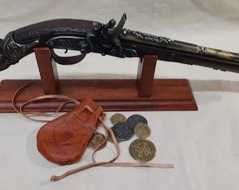 17th Century Aged German Flintlock Pistol