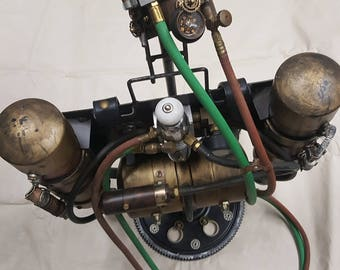 Steampunk Jet Pack- Steam Forged Studios Mark III- 0007/Production Date 1899