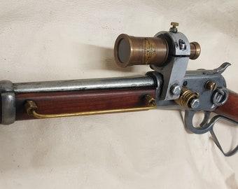 Steampunk Mare's Leg Rifle W/Scope