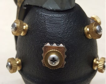Black Steampunk Lemon Grenade