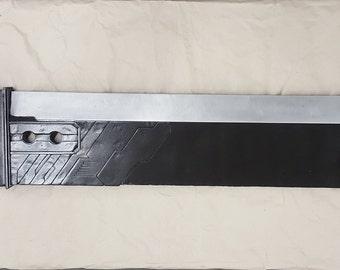 Custom Made Cloud Strife FFVII Remake Metal Buster Sword