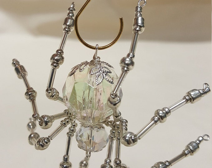 Steampunk Faceted Crystalline Ice Spider