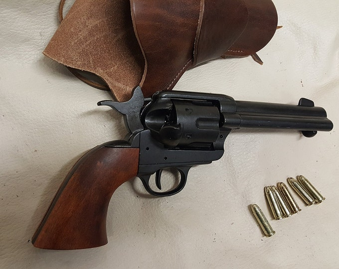 "1873 Colt ""Peacemaker"" Revolver Non Firing Replica w/Holster"