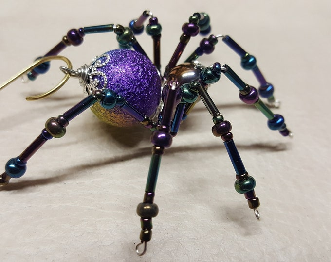 Steampunk Crystalline Spider