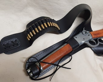 Base Model Mare's Leg Non-Firing Replica Rifle W/Holster and Bullets