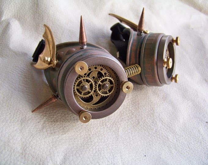 Steampunk Engineer Goggles- Demon Spawn