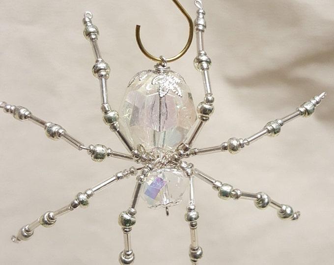 Steampunk Faceted Crystalline Ice Spider