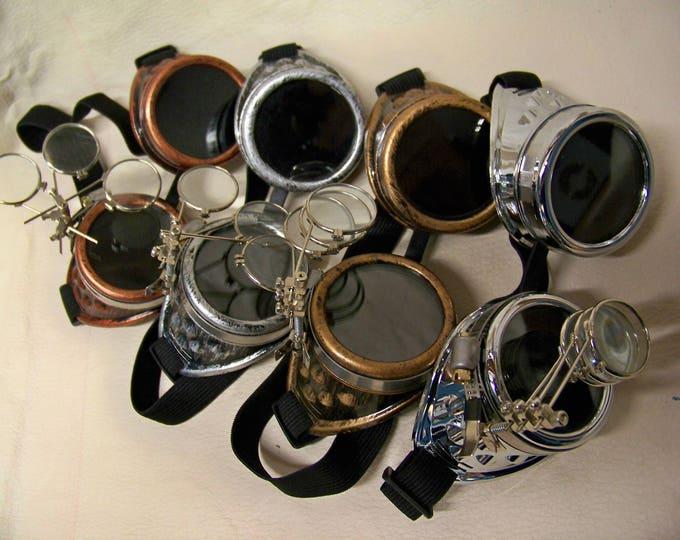Steampunk Basic Engineer Goggles