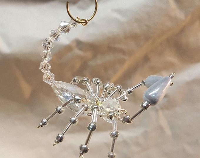 Steampunk Beaded Crystal Scorpion