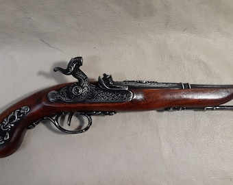 1872 Non-Firing Aged French/Pirate's Percussion Pistol Replica